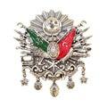Ottoman Empire Emblem, ( Old Turkish Symbol ) Royalty Free Stock Photo