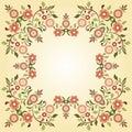 Ottoman motifs design series ninety five