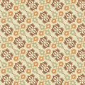 Ottoman seamless pattern 01 Royalty Free Stock Images
