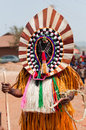 Otuo ukpesose festival itu masquerade in nigeria is made up of quarters namely amoya ohigba oluma amoho olila orake obo uree Royalty Free Stock Image
