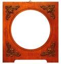 Oud houten kader Stock Afbeeldingen