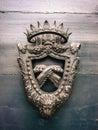 Oud wapenschild Royalty-vrije Stock Afbeelding