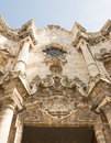 Oude havana cathedral architecture detail Royalty-vrije Stock Fotografie