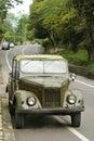 Oude Russische auto Royalty-vrije Stock Afbeeldingen