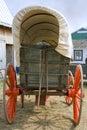 Oude wagen Stock Foto