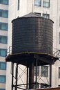Oude watertank Royalty-vrije Stock Fotografie