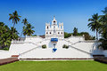 Our lady church goa of the immaculate conception Stock Photo