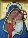 Our Lady of Good Counsel Royalty Free Stock Photo