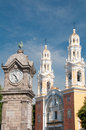 Our Lady of Guadalupe church in Puebla (Mexico) Royalty Free Stock Photo