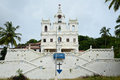 Our Lady of the Immaculate Conception Church, Goa Royalty Free Stock Photo