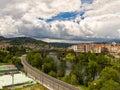 Ourense Roman bridge Royalty Free Stock Image