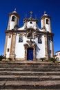Ouro preto view of the unesco world heritage city of in minas gerais brazil Royalty Free Stock Photo