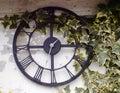 Out door garden clock