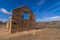 Outback homestead south australia the old kanyaka sits abanded in the flinders ranges national park Stock Images