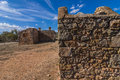 Outback homestead south australia the old kanyaka sits abanded in the flinders ranges national park Royalty Free Stock Image