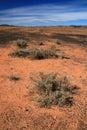 Outback - il centro rosso, Australia Fotografie Stock Libere da Diritti