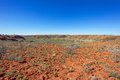Outback western australia pilbara region of Royalty Free Stock Photography