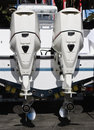 Outboards Royalty Free Stock Photo
