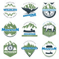 Outdoor Adventures And Tourism Colorful Logos