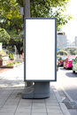 Outdoor advertising Royalty Free Stock Photo