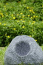 Outdoor audio speaker Royalty Free Stock Photo
