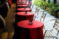Outdoor cafe Stock Photo