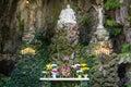 Outdoor catholic shrine Royalty Free Stock Photo