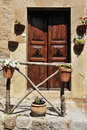 Outdoor Decoration in Valldemosa Royalty Free Stock Images
