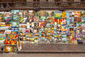 Outdoor gallery on the city walls of krakow june this famous street is located at st florian gate Royalty Free Stock Photo