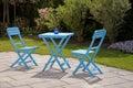 Outdoor garden furniture lounge Stock Photo
