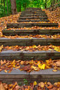 Outdoor Steps Royalty Free Stock Photo