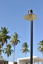 Outdoor streetlight Royalty Free Stock Images