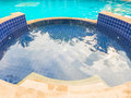 Outdoor swimmimg pool Royalty Free Stock Photo