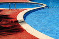 Outdoor swimming pool Royalty Free Stock Image