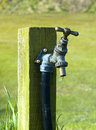 Outdoor tap Royalty Free Stock Photo