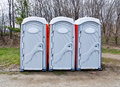Outdoor Toilets Stock Photos
