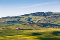 Outdoor tuscan hills landscape horizontal shot Stock Photos