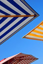 Outdoor Umbrellas Royalty Free Stock Photography