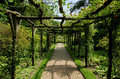 Outdoor Walkway Royalty Free Stock Photo