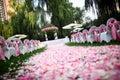 Outdoor Wedding Scene
