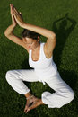 Outdoor Yoga Royalty Free Stock Images