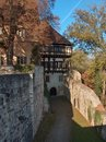 Outer Passway, Monastery Bebenhausen, Germany Royalty Free Stock Photo