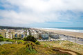 Outer richmond, Great Highway, Ocean Beach, San Francisco, Calif Royalty Free Stock Photo