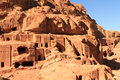 The Outer Siq, in Petra, Jordan Stock Image