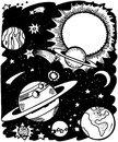 Outer space Stock Image