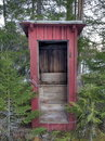 Outhouse Stock Photos