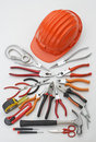 Outils de construction Photo libre de droits