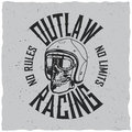 Outlaw Racing Poster