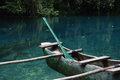 Outrigger canoe Royalty Free Stock Photo