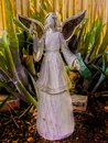 Angel in the Garden. Royalty Free Stock Photo